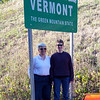 October 2nd, 2010 -- we fly into Manchester, NH, and then drive into Vermont for a wedding and some fall color!