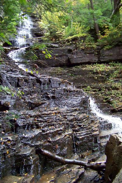 More views of Lye Brook Falls