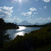 Mount Moran in the background at Oxbow Bend.