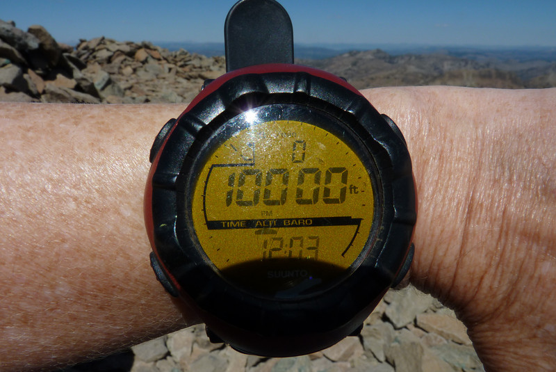 How many times do you get to see an even number like that on your altimeter?!