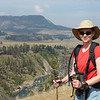 The Yellowstone River far below Patti