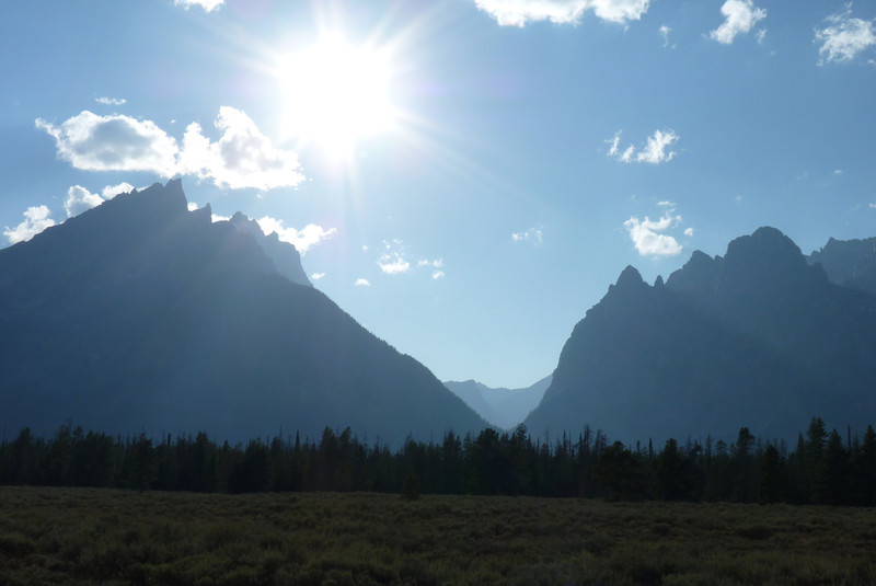 We end our time in the Tetons with a final look up Cascade Canyon.