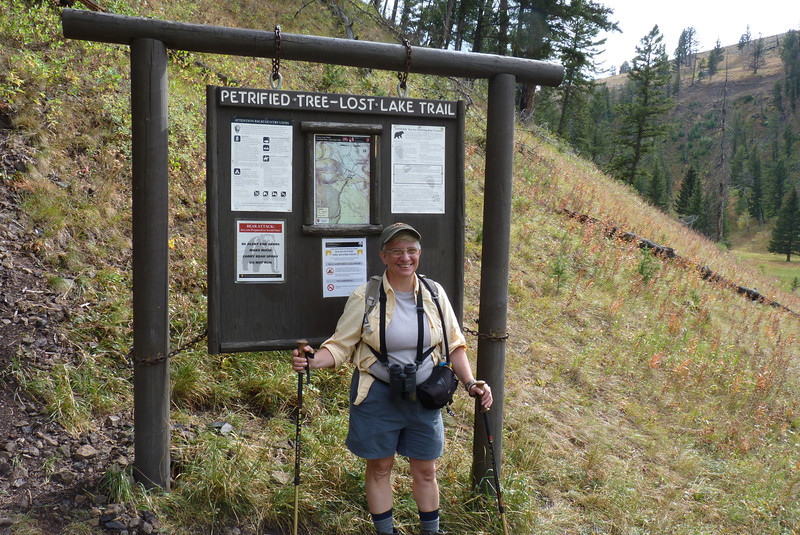 Next we head to the trailhead for Lost Lake.