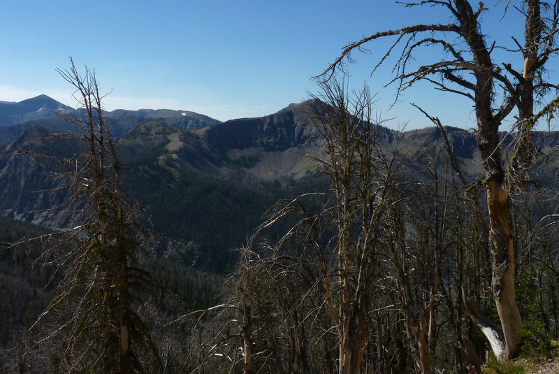 Looking across the valley at another cirque...