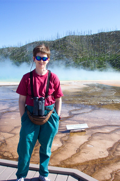 The Grand Prismatic Spring at the Midway Geyser Basin.