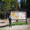 Day 8 - Saturday, June 14th, 2003<br /> We've proceeded further into the Bighorn National Forest and will spend today day-hiking to Mirror Lake in the Cloud Peak Wilderness Area.
