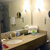 Here's the bathroom. We'd already unpacked and got settled in when I started taking pictures