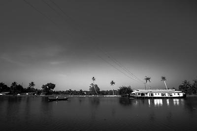 Backwaters, Alappuzha, Kerala, India