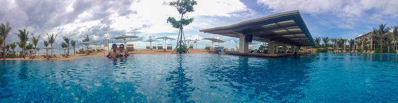 The Sky Pool @ Mulia Bali