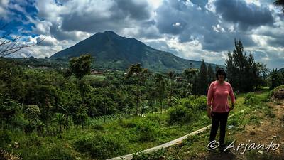 @ Kopeng - View of Mt. Merbabu (3,145 m)