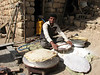 making bread at home (Bazoft valley)