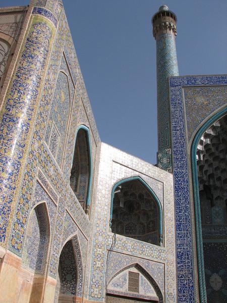 detail of the Imam Mosque (Nash-E Jahan (Imam square) Esfahan)