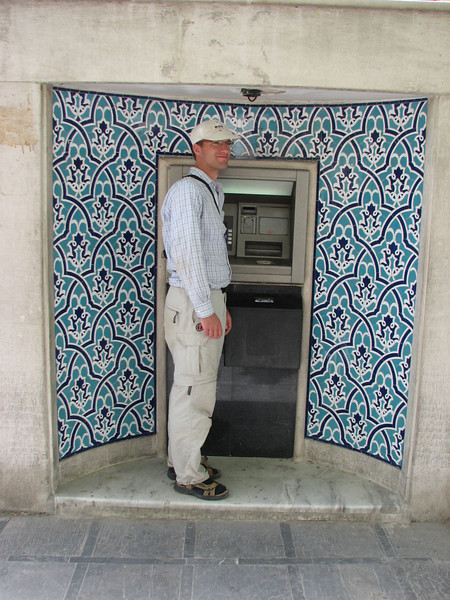 ATM,in style, for inhabitants  (Esfahan)