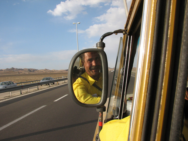Mohamad Rostami (our Iranian driver/guide and friend)
