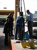 reserve petrol (jarrycan filling)
