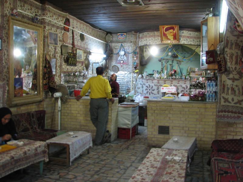 tea house (Chehel Sotun Palace, Esfahan)