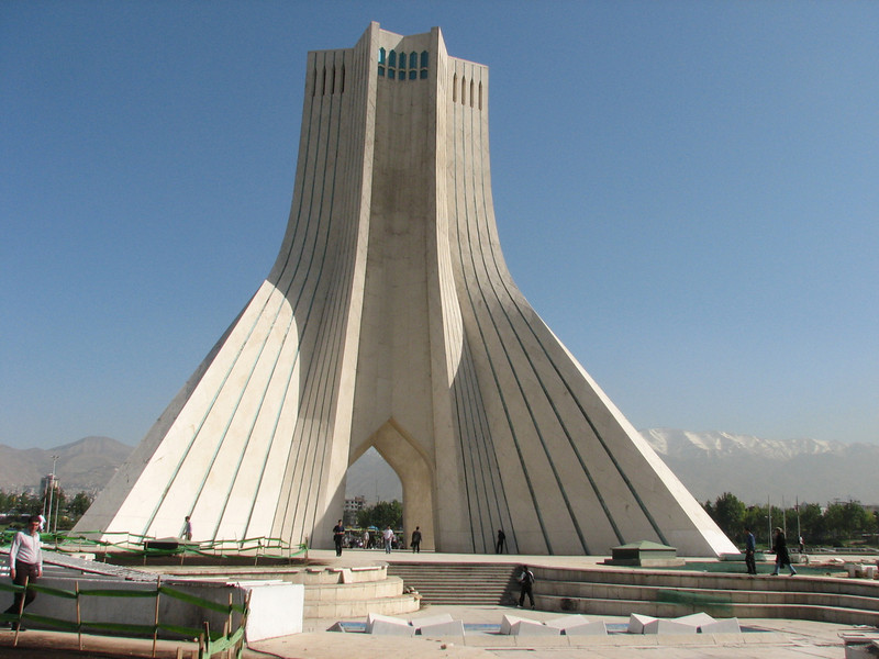 10-11 May 2008 Azadi Monument (Tehran)