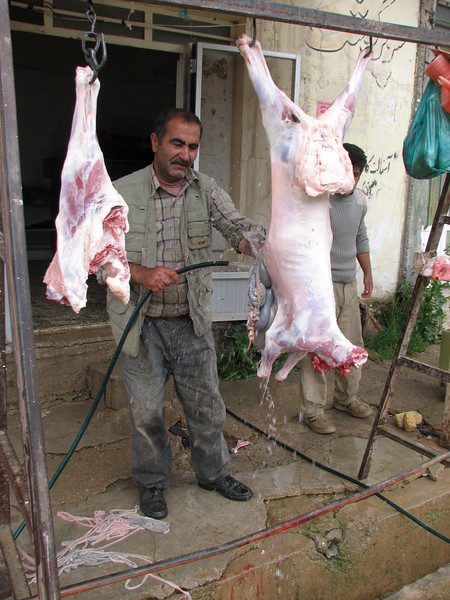 butcher store on the street