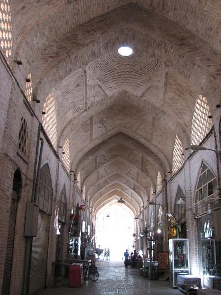 Bazar-e-Bozorgh, center of the handycraftsman (Esfahan)