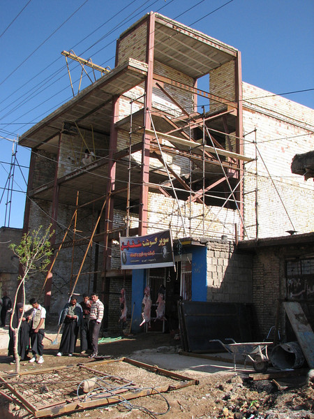construction of an earthquake resistant building (Ardal)