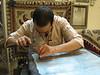 silver sheet work (handycraftsmen Esfahan)