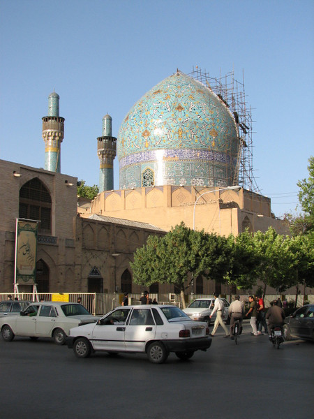 Hakim mosque under restauration (Esfahan)