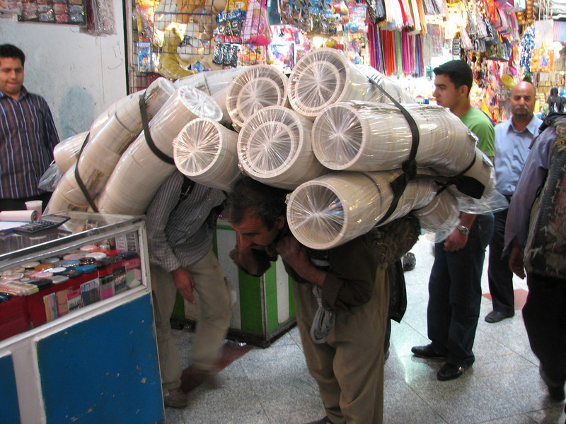 (Tehran Bazaar)