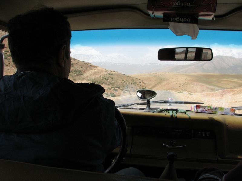 driver Mohamad  (near Chelgerd)