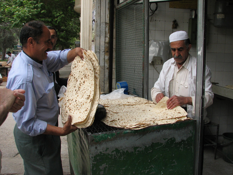 traditional bread (Khorramabad)