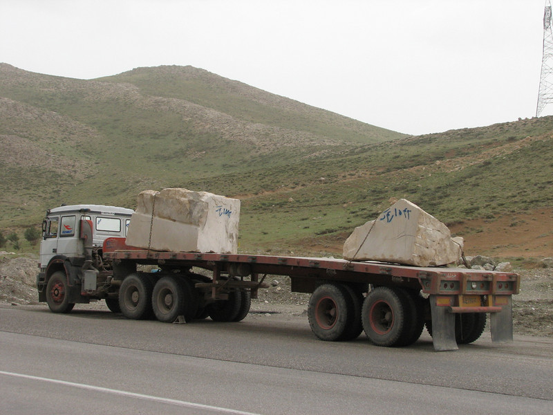 lime stone: marble transport