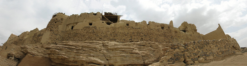 mudcastle anno 1800 (yahya abad, 80 km N of Esfahan)
