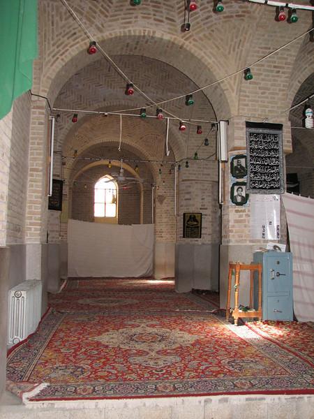 """""""spring"""" part of the mosque (Jamii mosque, Natanz)"""