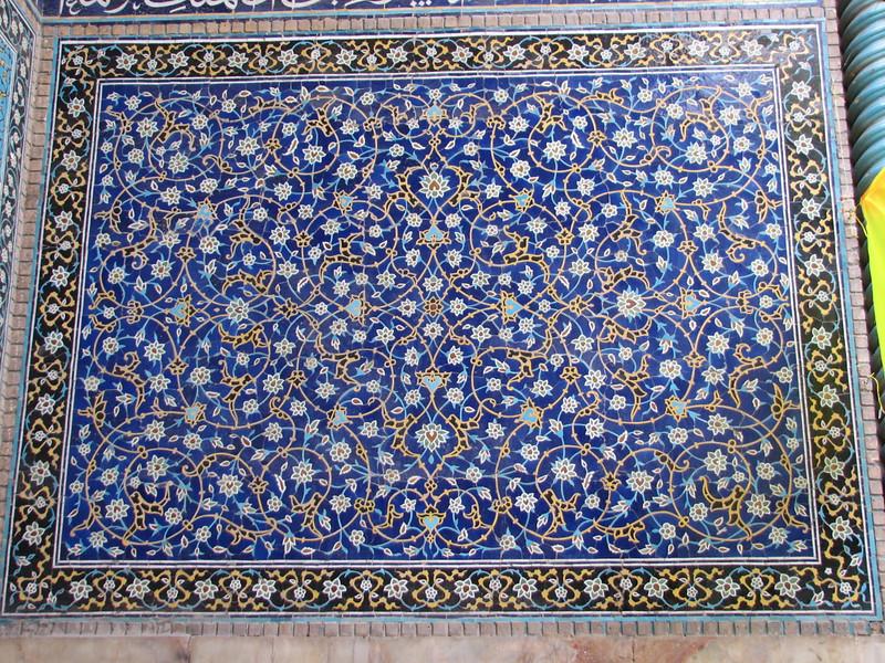tiles (Imam square, Esfahan)
