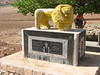 new grave ( with lion ) of an important person (Bazoft valley)