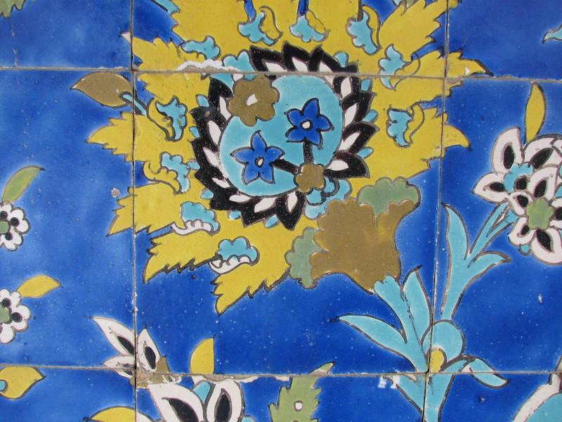 tile work (Nash-E Jahan (Imam square) Esfahan)