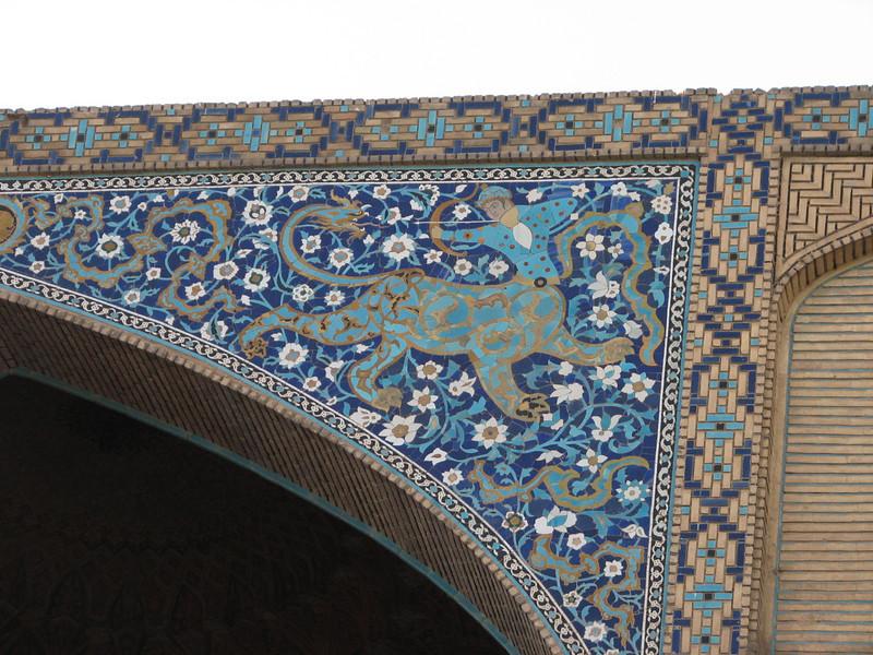 Tile mosaiek (Nash-E Jahan (Imam square) Esfahan)