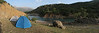 campground near the river (S of Chaman goli, Bazoft valley)