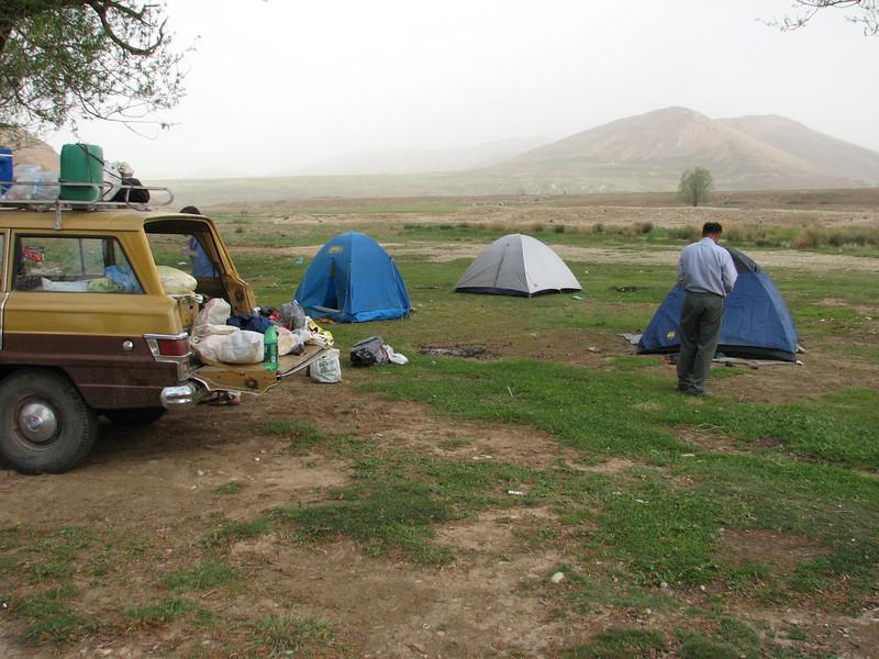 campground 1-2 May (near Chelgerd)