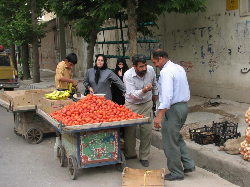Mohamad on food hunting (Khorramabad)