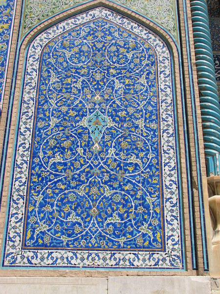 tile decoration (Nash-E Jahan (Imam square) Esfahan)