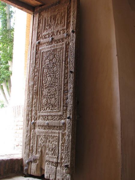 entrance (Jamii mosque, Natanz)
