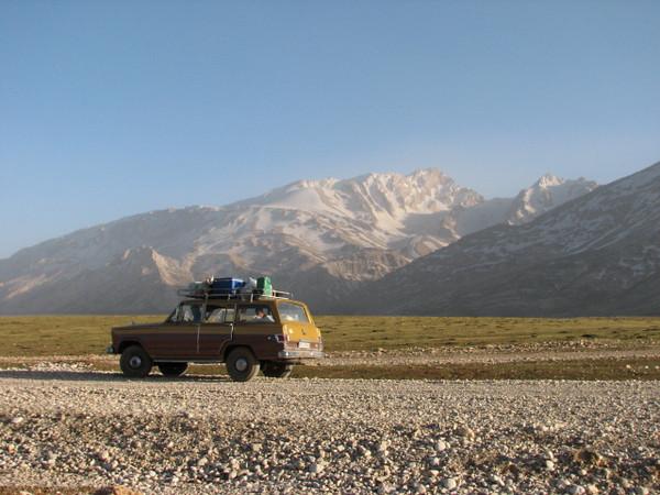 traveling in the Zagros mountains (near Chelgerd)