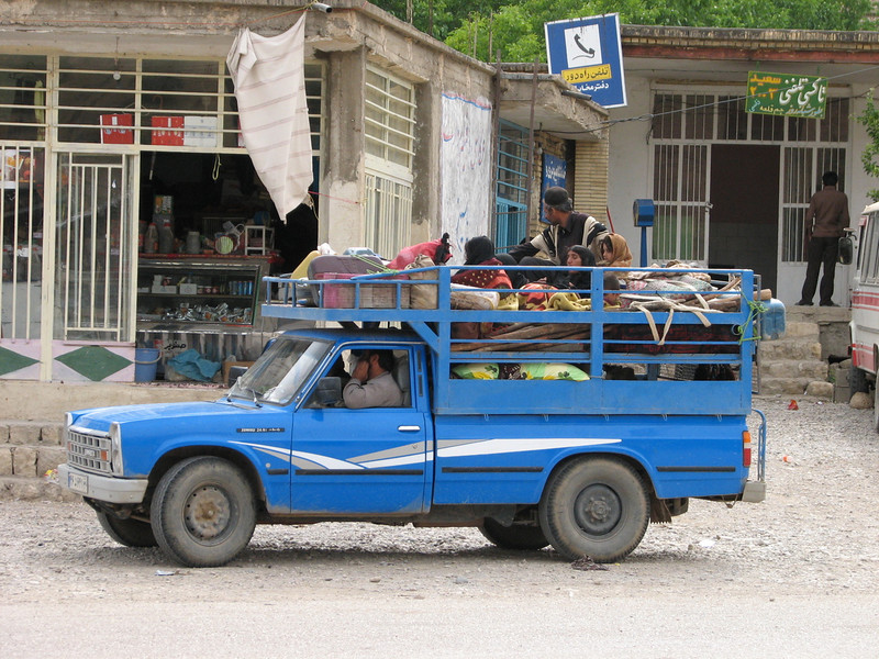 transportation of a nomad family included the goats