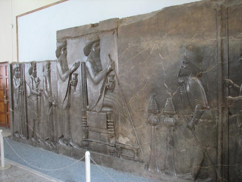 ancient art of Persepolis (National museum of Iran)