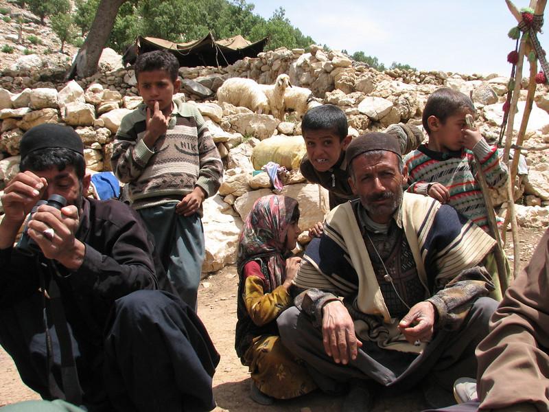 nomad family (Bazoft valley)