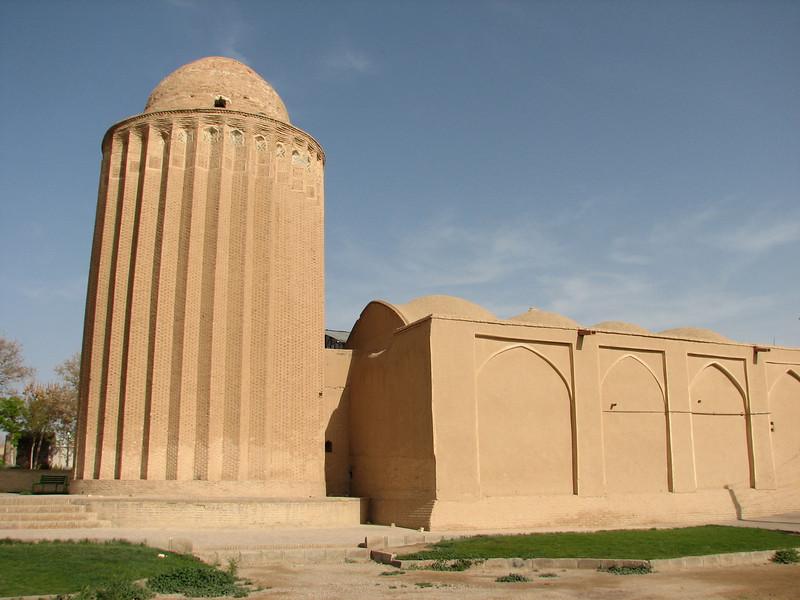Islamitic building (Bastam, East Elburz, N.Iran)