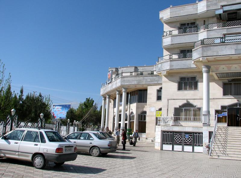 Hotel in Bojnurd, 27-28 April  (Koppe Dag mountains NE Iran)