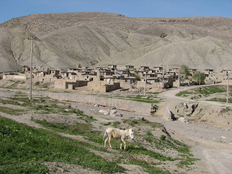 Iranian village (Koppe Dag mountains NE Iran)