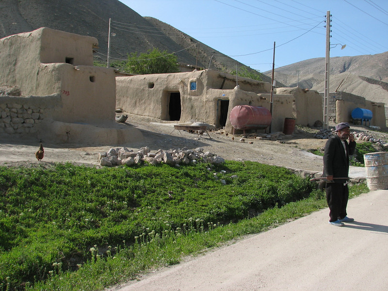mud houses (Koppe Dag mountains NE Iran)