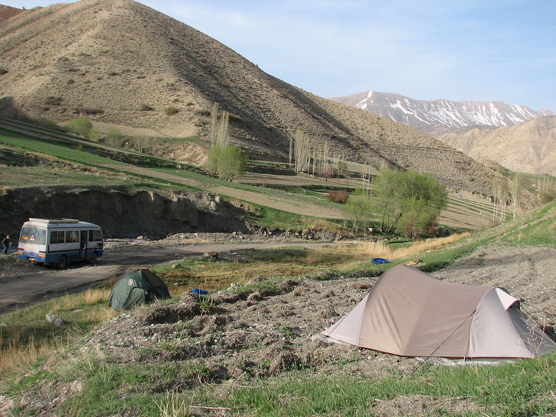 campground May 6th - 7th (Tash pa'in, East Elburz, N.Iran)
